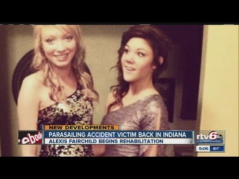 Parasailing victim Alexis Fairchild on road to recovery at rehabilitation facility in Indianapolis