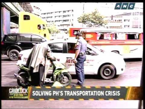 What causes Metro Manila traffic gridlock?