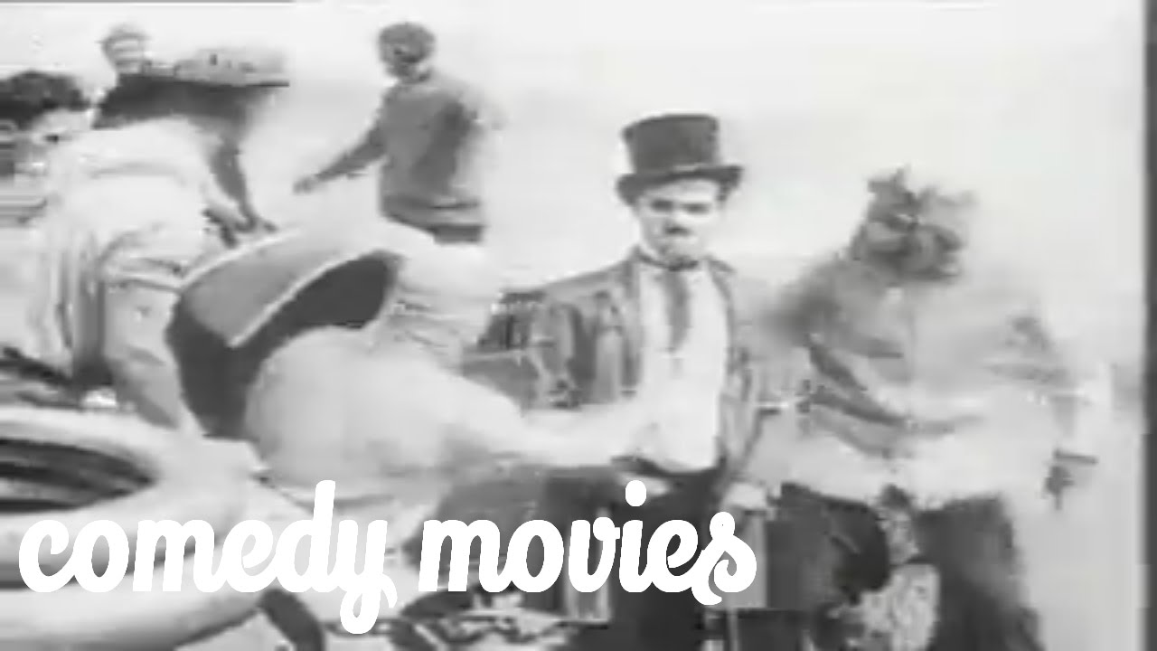 best comedy movies - Mabel at the Wheel Charles Chaplin