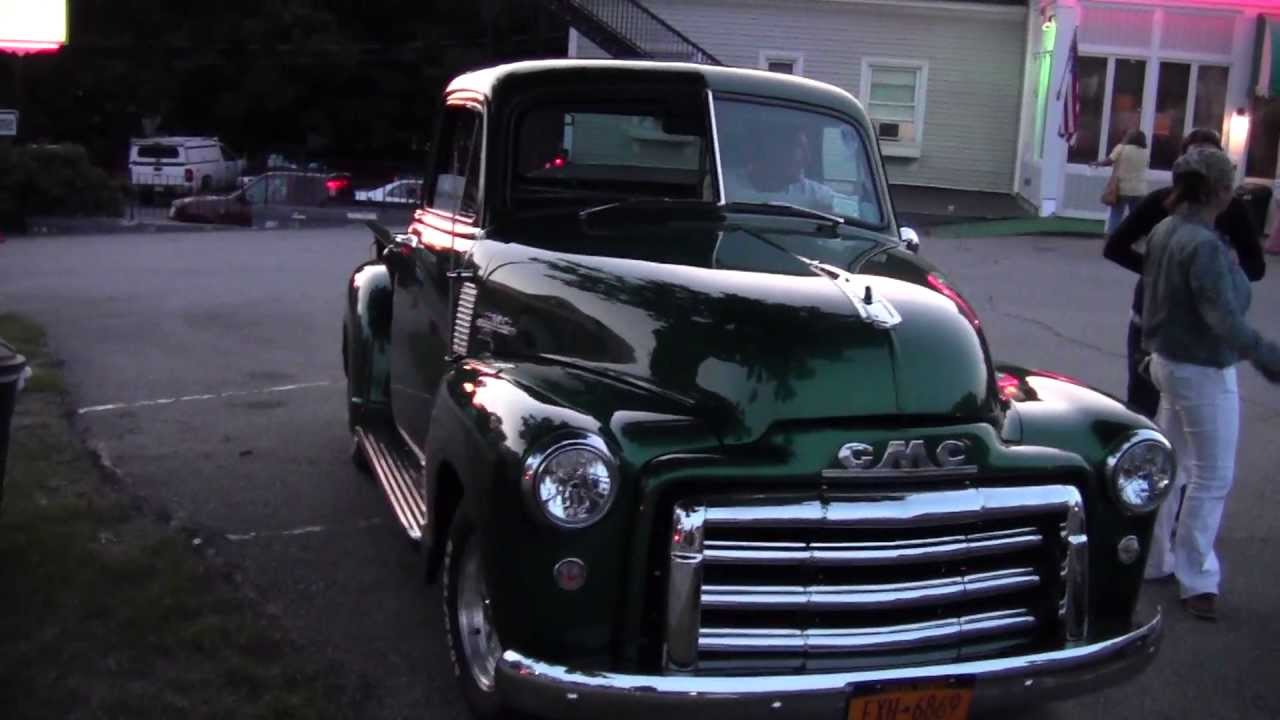 Classic 50\'s GMC Pickup Truck at Chestertown NY Classic Car Show 6 ...