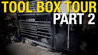 TOOL BOX TOUR! What's the Most Used Tools in Matt's Tool box? PART 2 - Eastwood