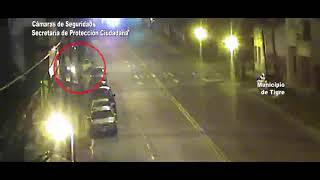 Intensa persecución terminó con dos detenidos por robar un auto