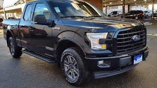 2017 Black Ford F-150 4x4 SuperCab XLT Sport Review | Prince George Motors