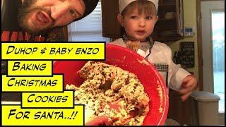 Duhop Baking Christmas Cookies For Santa Vlog Food Network Recipe