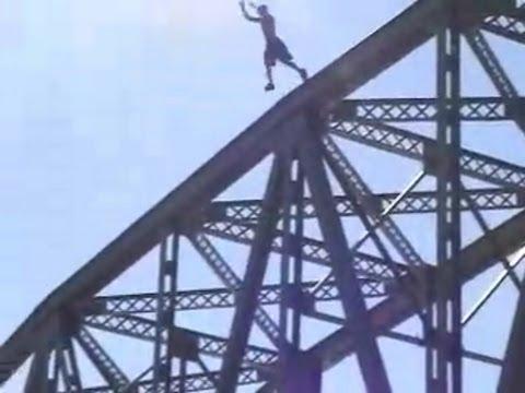 INSANE Bridge Jump!!!