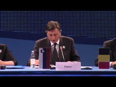 Borut Pahor, predsjednik Vlade