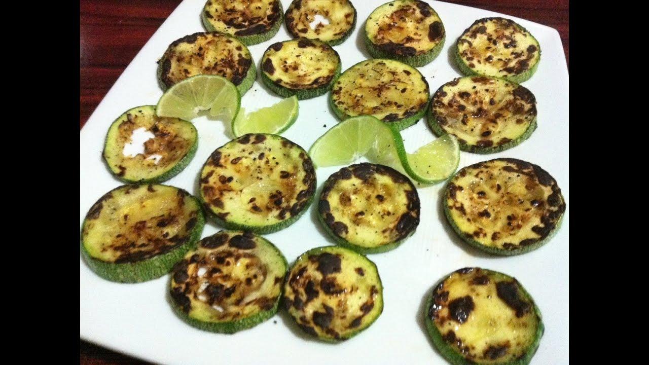 Receta de Calabacitas asadas fciles y muy ricas  Comida vegetariana  La receta de la abuelita  YouTube