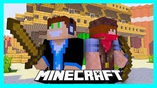 Minecraft Kowboje i Indianie - Vertez i BoBiX vs Widzowie!