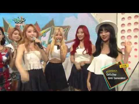 [HD] 150710 Girl's Day - Interview @ KBS Music Bank
