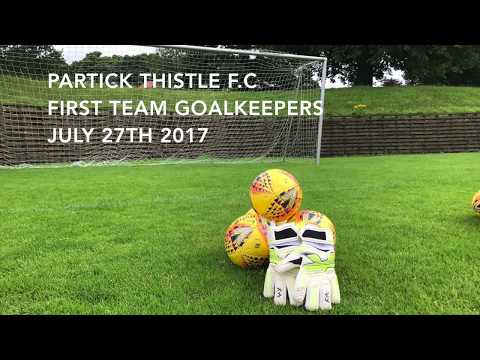 Partick Thistle Goalkeepers- Behind the scenes