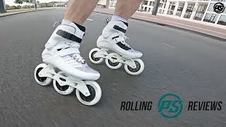 Powerslide Swell Ultra White 110 fitness inline skate - Rolling Review