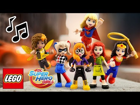 Get Your Cape On  - LEGO DC Super Hero Girls - Music Video