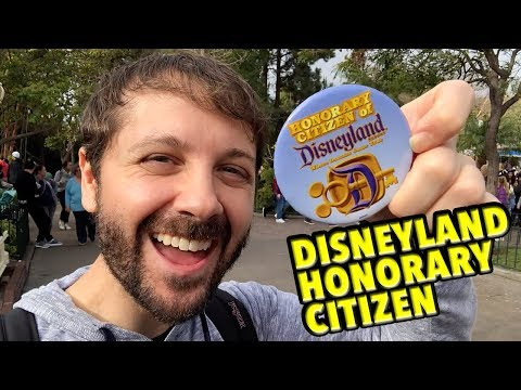 How To Become a Disneyland Honorary Citizen