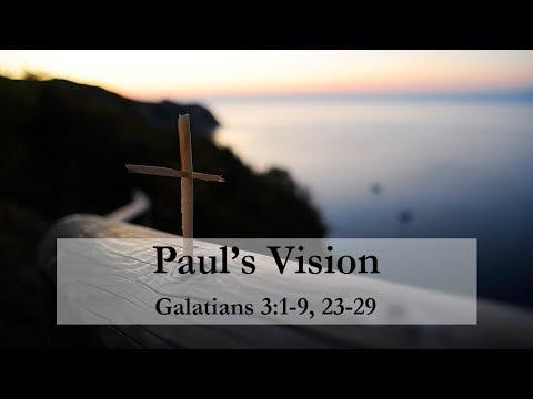 Paul's Vision