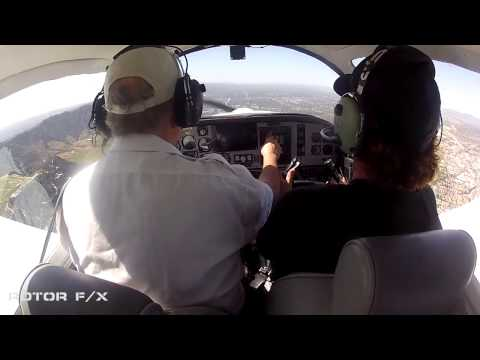 Michael Montana Discovery Airplane Flight Lesson @ ROTOR F/X 20150307