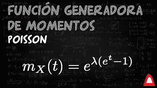 Madmath | Función generadora de momentos para Poisson