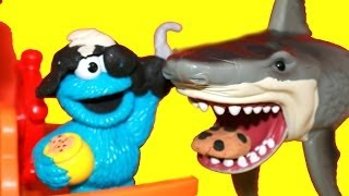 pirate cookie monster in search for the missing play doh cookie sesame street alltoycollector