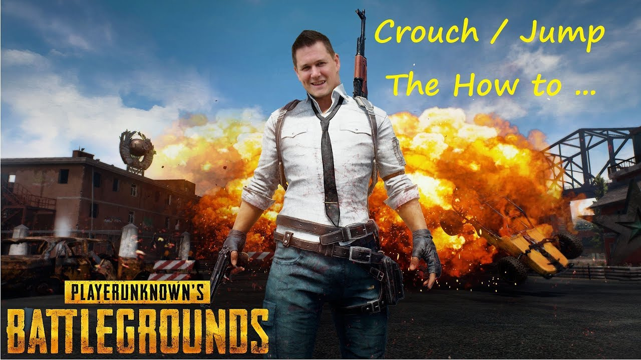 PUBG – How To Crouch Jump – Latest Patch