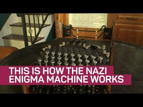 This is how the Nazi Enigma machine works (CNET News)
