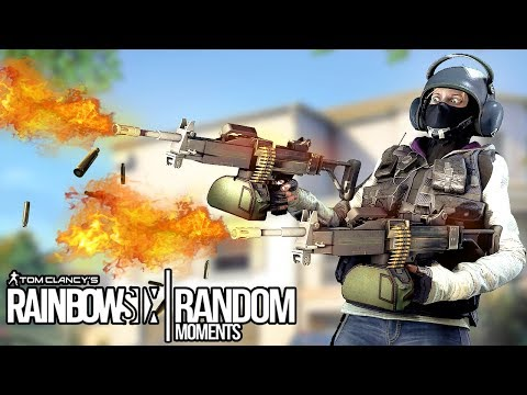 Rainbow Six Siege - Random Moments: #11 (Boring Buck,Operation Lag)