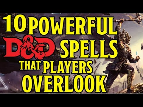 Most Underrated Spells in Dungeons and Dragons 5th Edition