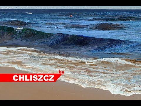 Photoshop CC digital painting – Beach in Sopot