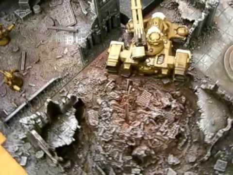 Warhammer 40k - Cities Of Death modular terrain