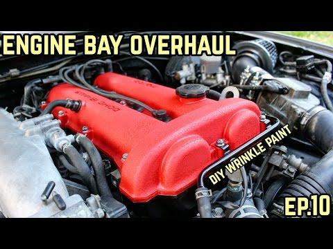ENGINE BAY OVERHAUL! : MX-5 Miata NA Drift Build Ep.10