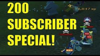 200 sub special -- 300m+ loots! Legacy Pk Vid #26