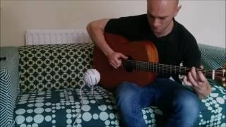 Adele - Skyfall Solo Guitar Cover - Louis Ford