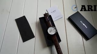 Обзор. Мужские наручные часы Cuena 6805 White. Интернет-магазин ARI