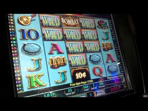 Slot Machine Bombay Jackpot Bonus BIG WIN