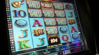 Slot Machine Bombay Jackpot Bonus BIG WIN