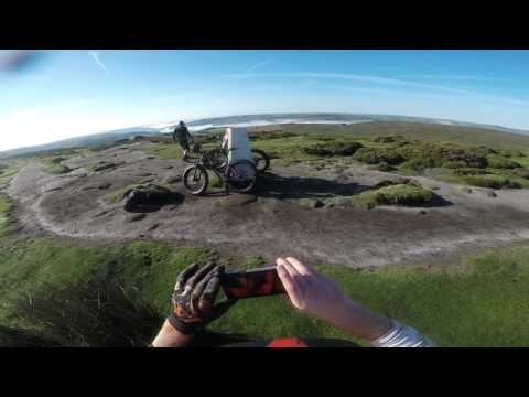 stanage and the beast and mam tor on the fatbikes