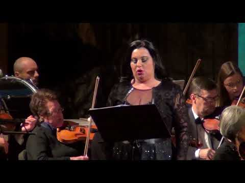 Norma Bellini is sung by Liudmyla Monastyrska, conducted by