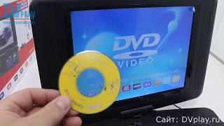 LS-120T - обзор цифрового телевизора с DVD