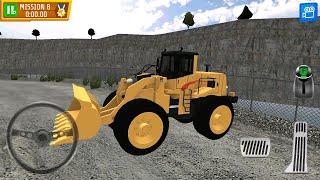 Direksiyonlu Kepçe oyunu - araba oyunları kamyon kepçe videoları çizgi film animasyon