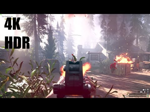 HDR Gameplay - Far Cry 5 - 4K