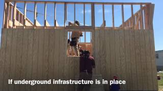 Build 1 Day 4 | Lakota Tiny House Nation with Peter King