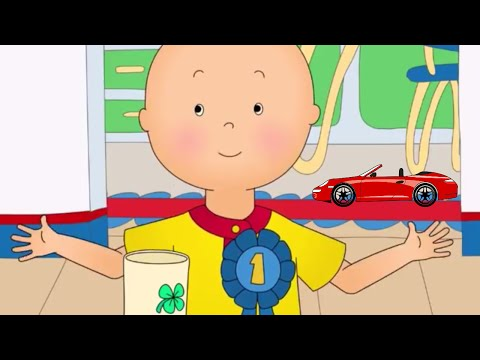 Funny Animated cartoons Kids  Caillou  Caillou can Dance  Summer  ONLINE Cartoons for kids