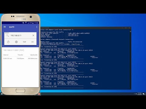Iperf3 Test Internet Speed Between Windows 10 And Android 2019 Guide