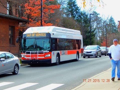 CATA Bus (State College, PA): 2012 New Flyer XN40 (CNG) #29 ~ W/ Cummins Westport ISL-G