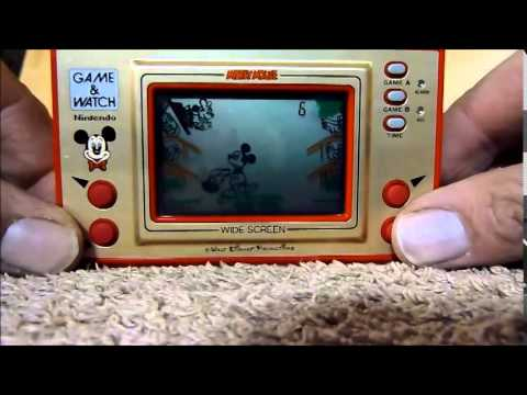 Game and Watch MICKEY MOUSE [HD] Review and Game Play - EPIC