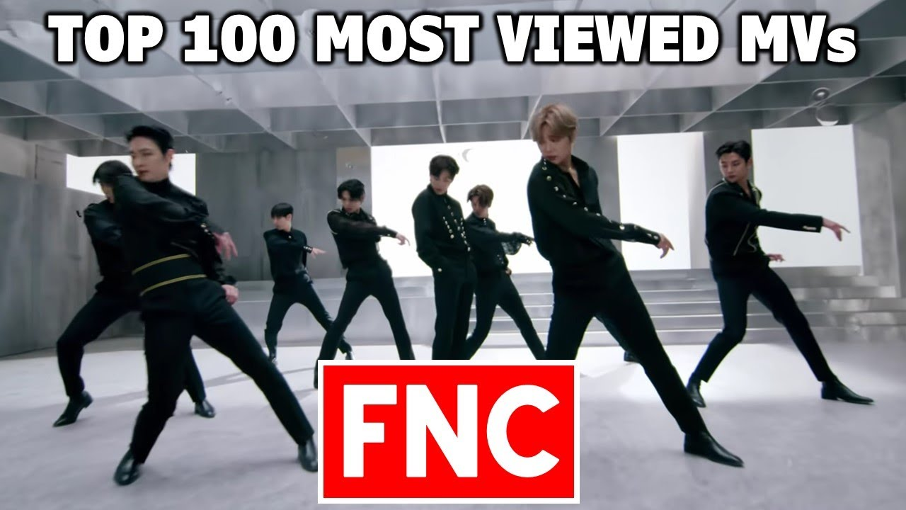 [TOP 100] Most Viewed FNC Music Videos (September 2021)