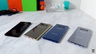 Samsung Galaxy Note 8 Color Choices