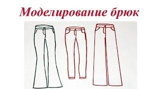 видео Как сшить брюки клеш