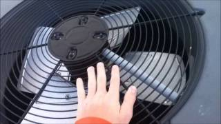 January 3, 2012 Goodman Repair Series 5 : Condenser Fan Motor Mayhem  Part 0 Introduction
