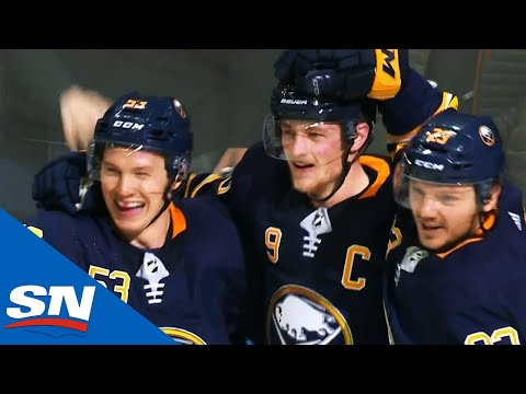 Jack Eichel Shows Skill, Composure & Finish On Goals Against Maple Leafs