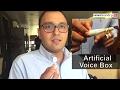 Oncologist Dr Vishal Rao talks about artificial voice box 'Aum'