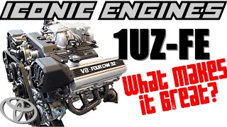 Toyota 1UZFE - What makes it GREAT? ICONIC ENGINES #8